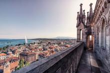 Geneva City In Daytime Viewed ...