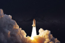 The Shuttle Spaceship Launch I...