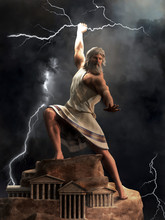 Zeus, The King Of The Greek Go...