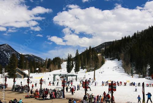 Colorado ski resort vacation concept Tapéta, Fotótapéta