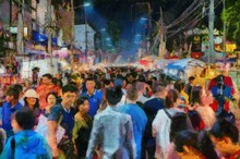 Chiang Mai Walking Street Thai...