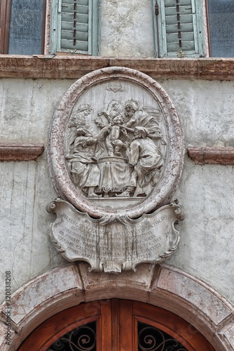 Coat of arms of the martyrdom of beati Simonis Wallpaper Mural