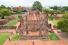 Wat Maha That, Thaïlande, Ves...