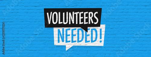 Fotografia Volunteers needed