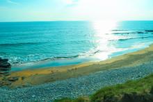 Scenic Fanore Beach In County...