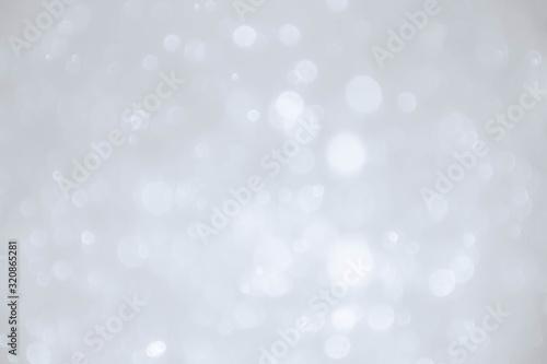 Fototapeta Abstract bokeh lights with soft light background. Blur wall. obraz na płótnie