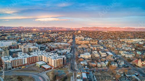 Cuadros en Lienzo Highlands Area in Denver, Colorado, USA