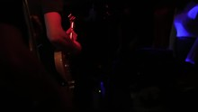 Man Lead Guitarist Playing Ele...