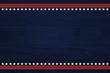 Leinwanddruck Bild - USA patriotic background