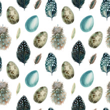 Watercolor Seamless Pattern, F...