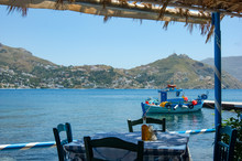 A Greek Taverna By The Seaside...