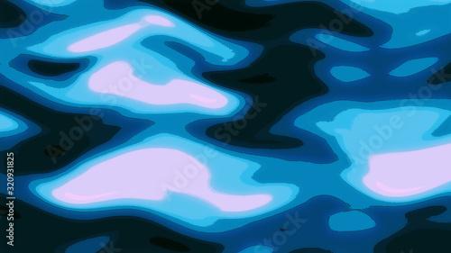 Fototapety, obrazy: 水のイラスト風グラフィック背景テクスチャ素材