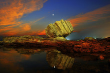Wanli North Coast At The Night