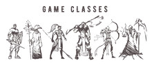 Sketch Of Game Classes Of Mult...