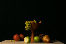 Autumn Still Life With Fruits ...