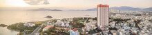 Aerial View Over Nha Trang Cit...