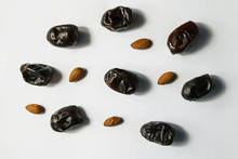 Dried Dates Fruits With Almond...