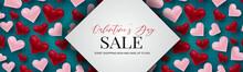 Valentine's Day Sale Banner De...