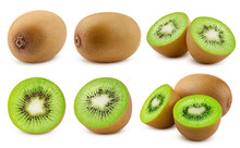 Kiwi Isolated On White Backgro...