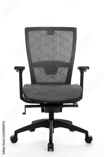 Obraz na plátně Office Business Chair on White