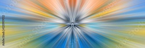 Cuadros en Lienzo Dynamic lines of light