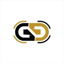 Initial Letter Gg Logo Vector Templates