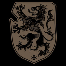 A Medieval Heraldic Coat Of Ar...