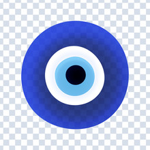 Evil Eye Protection Sign. Protect Symbol From Evil Eye.