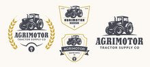 Set Of Farm Logo, Emblems, And...