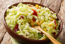 Vitamin Organic Salad Of Savoy...