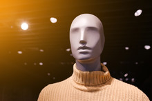 A Faceless Mannequin In An Exp...