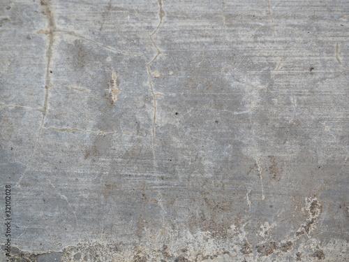 Fototapeta old grey concrete wall cement pattern, natural texture background obraz na płótnie