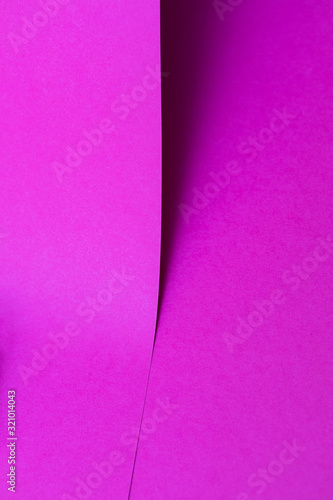 violet colored papers with shadow - 321014043
