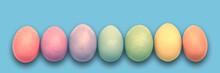 Pastel Painted Easter Eggs Ali...