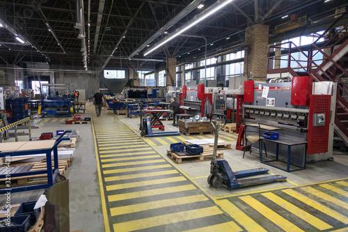 Obraz plant of lighting technologies and lighting equipment - fototapety do salonu