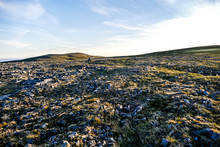 Aerial View Of Mountains, In Sweden Scandinavia North Europe , Taken In Nordkapp, Europe
