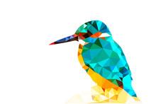 Bird Polygonal Low Poly Geomet...