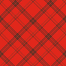 Seamless Pattern In Lovely Red...