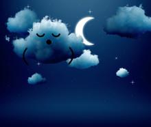 3d Render, Sleeping Dreaming C...