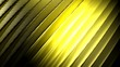 Leinwanddruck Bild - Background yellow waved surface - 3D rendering illustration