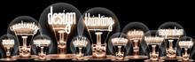 Light Bulbs With Design Thinki...