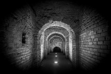 Brick Tunnel Archway Made Of R...