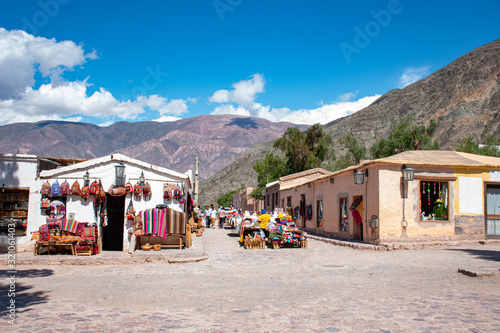 casas de adobe Canvas Print