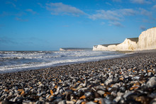 A View Of The Seven Sisters Cl...