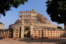 Great Stupa, UNESCO World Heri...