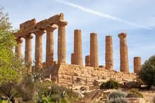 Tempio, Valle Dei Templi, Agrigento, Magna Grecia, Sicilia, Akragas, Unesco