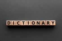Dictionary - Words From Wooden...