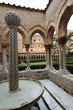 Italy Sicily Province of Palermo Monreale Duomo di Monreale Courtyard