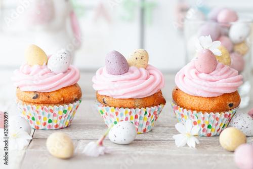 Kleine Cupcakes zu Ostern