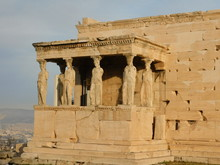 The Porch Of The Caryatids, On...